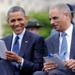 Obama.Eric Holder
