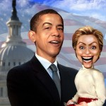 Hillary Puppet